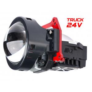 """Светодиодная линза Optima Premium Bi-LED Lens Element Series 3.0"""", 24V, Shift Mode Truck"""