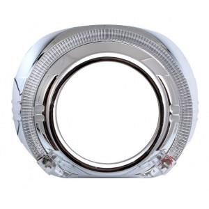 Бленда Optima GD103 для линзы 3.0 дюйма круглая со сверх яркими ангельскими глазками арт: BL-GD103
