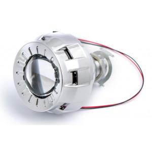 Би-ксеноновая линза Optima MICRO ROUND 1.8 дюйма под лампу Н1 арт: LENS-1.8-R