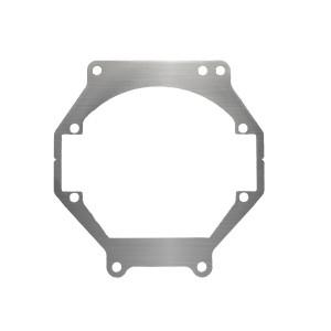 Переходная рамка Toyota Camry XV40 для установки Optima Bi-LED вместо штатных галогенных/ксеноновых модулей (комплект, 2 шт.)