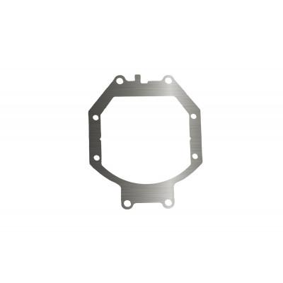 Переходная рамка Mitsubishi Pajero IV для установки Optima Bi-LED вместо штатных галогенных/ксеноновых модулей (комплект, 2 шт.)