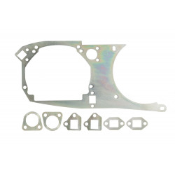 Переходная рамка Toyota Supra IV для установки Optima Bi-LED PS / Hella 5R  вместо штатных модулей (2 шт.) арт: OPR-180