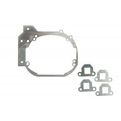 Переходная рамка Kia Soul II до рестайлинг для Optima Bi-LED PS / Hella 5R вместо штатных модулей (2 шт.) арт: OPR-182