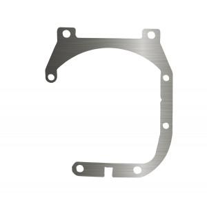 Переходная рамка Mazda 3 II (BL) для установки Optima Bi-LED вместо штатных галогенных/ксеноновых модулей (комплект, 2 шт.)