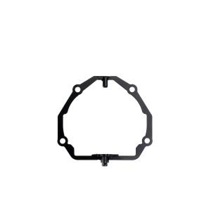 """Переходная рамка для установки модулей Optima Bi-LED Professional Series 3.0"""" / Optima 5R/5R-TQ (Hella 3) / Optima Magnum 3.0"""" вместо штатных модулей Hella 4 INTEMO AFS (комплект, 2 шт.) арт:  OPR-262"""