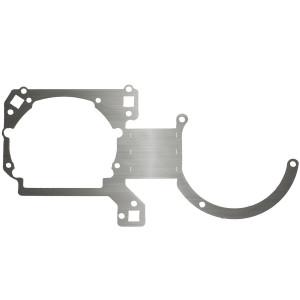 """Переходная рамка Mazda 3 I (BK) для установки Hella 3/3R/5R/ Optima Magnum 3.0"""" вместо штатных галогенных/ксеноновых модулей (комплект, 2 шт.) арт: OPR-51"""