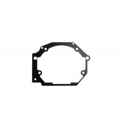 Переходная рамка Subaru Legacy IV/Outback III для Optima Bi-LED PS / Hella 5R /  вместо штатных модулей (2 шт.) арт: OPR-87