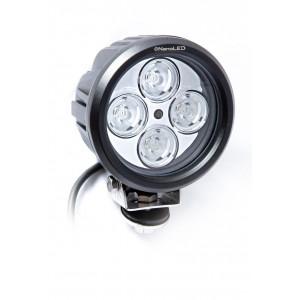Светодиодная фара круглая NANOLED NL-1540B 40W узкий луч