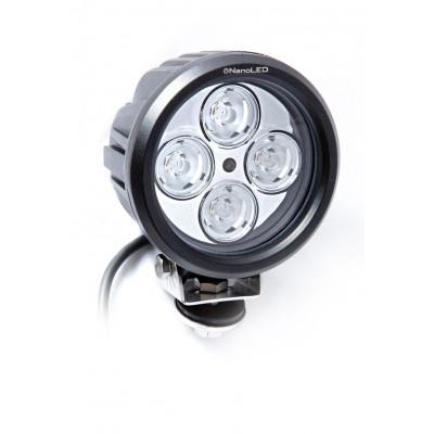 Светодиодная фара круглая NANOLED NL-1540B 40W узкий луч арт: NL-1540B