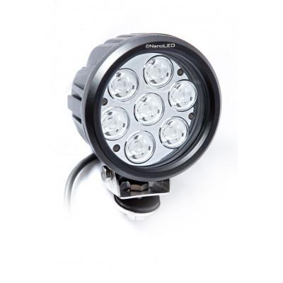 Светодиодная фара круглая NANOLED NL-1570D 70W узкий луч