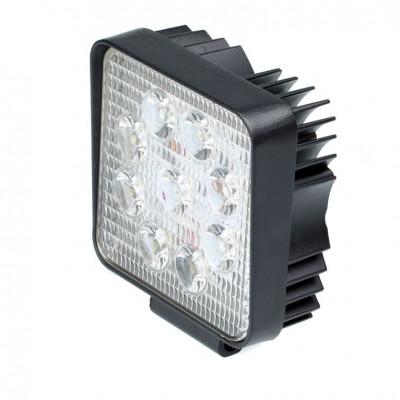 Фара светодиодная 27W, 9 LED, рабочий свет, 110*110*55мм арт: NL-W4027R