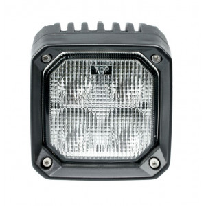 Фара светодиодная 40W, 4 LED, рабочий свет, 110*110*55мм