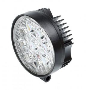 Фара светодиодная 27W, 9 LED, рабочий свет Круглая арт: NL-W5027R