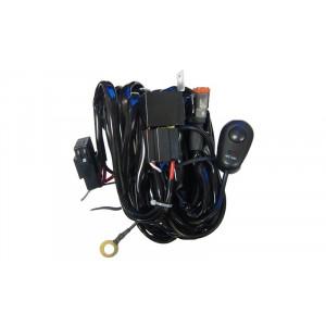 Проводка для 1 фары, с предохранителем, DT connector арт: NL-PR-14