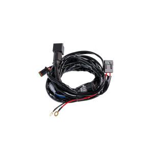 Проводка для 1 фары, длинна проводов 2,5м, 12V, нагрузка MAX 30А, с предохранителем
