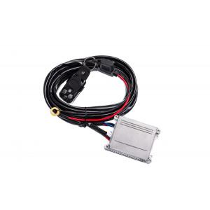 Проводка для 1 фары СТРОБОСКОП и длинной проводов 3м арт: NL-PR-07