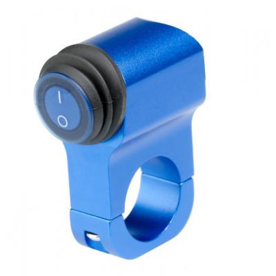 Выключатель влагозащищенный 2210BL синий IP-65 арт: NL-KN-2210BL