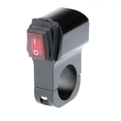 Выключатель влагозащищенный 2219B черный IP-65