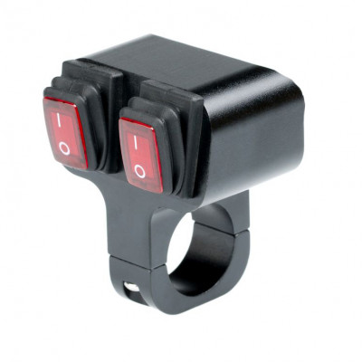 Выключатель влагозащищенный 2221B 2х кнопочный