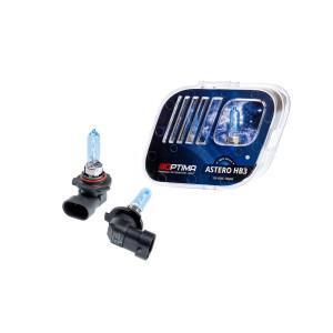 Галогенная лампа Optima Astero HB3 +80% White 5000K, 12V, 65W
