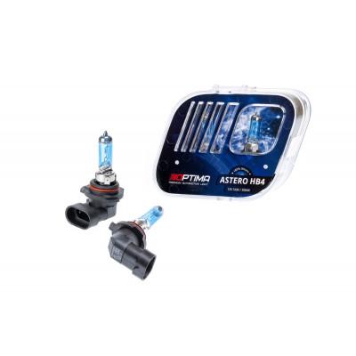 Галогенная лампа Optima Astero HB4 +80% White 5000K, 12V, 55W арт: HASHB4