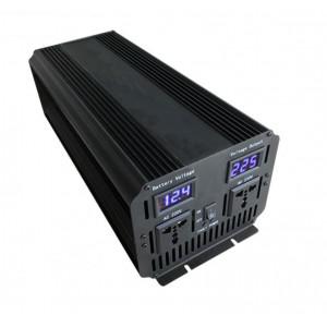 Инвертор автомобильный 12V - 220V 2500W