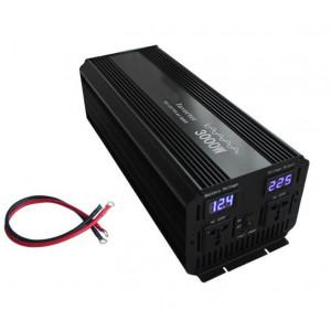 Инвертор автомобильный 12V - 220V 3000W