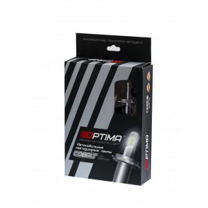 Светодиодная лампа H4 COBALT Optima гибкий радиатор чип Phillips Luxeon Z ES