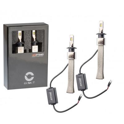 Автомобильная светодиодная лампа D2 Optima LED COBALT NEW, ZES 5530, 5500K, 12-24V, комплект 2 лампы