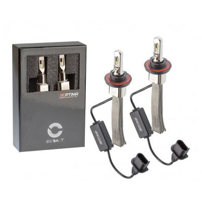 Автомобильная светодиодная лампа H13 Optima LED COBALT NEW, ZES 5530, 5500K, 12-24V, комплект 2 лампы
