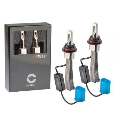 Автомобильная светодиодная лампа HB5/9007 Optima LED COBALT NEW, ZES 5530, 5500K, 12-24V, комплект 2 лампы