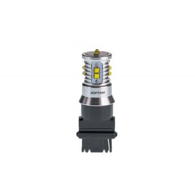 Светодиодная лампа 3156 Optima Premium CREE MINI, белый цвет CAN, 12-24V арт: OP-3156-CAN-50W