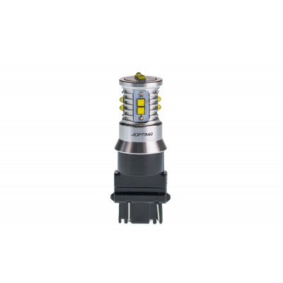 Светодиодная лампа 3157 Optima Premium CREE MINI, CAN, 12-24V, двухконтактная арт: OP-3157-CAN-50W