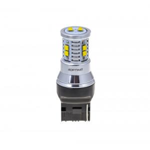 Светодиодная лампа 7440 (W21W) Optima Premium CREE MINI, CAN, 12-24V арт: OP-7440-CAN-50W