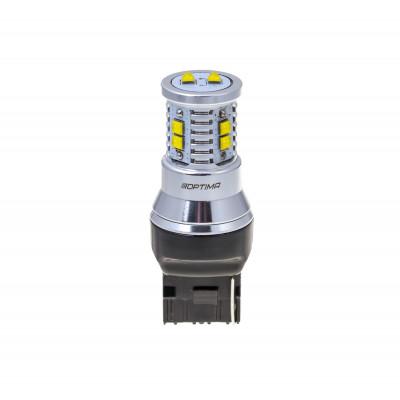 Светодиодная лампа 7440 (W21W) Optima Premium CREE MINI, CAN, 12-24V