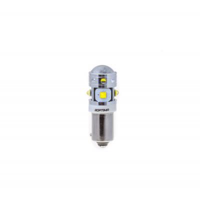Светодиодная лампа H21W Optima Premium CREE MINI, CAN, 12-24V арт: OP-H21W-CAN-30W