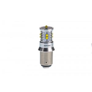 Светодиодная лампа P21/5W Optima Premium CREE MINI, CAN, 12-24V, двухконтактная арт: OP-P21/5W-CAN-50W
