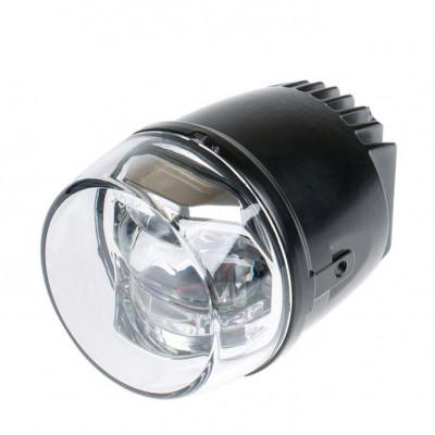 Светодиодная противотуманная фара OPTIMA LED FOG LIGHT 1275 универсальная, диаметр 70 мм, 9W, 5500K, 12V, комплект арт: LFL-1275