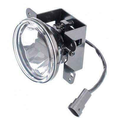 Светодиодная противотуманная фара OPTIMA LED FOG LIGHT 675 Jeep/Dodge 100мм, 6W, 5500K, 12-24V, комплект 2шт арт: LFL-675