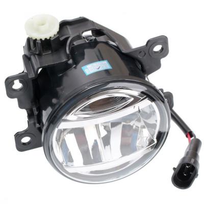 Светодиодная противотуманная фара OPTIMA LED FOG LIGHT 881 Nissan/Honda 90мм, 6W, 5500K, 12-24V, комплект 2шт арт: LFL-881