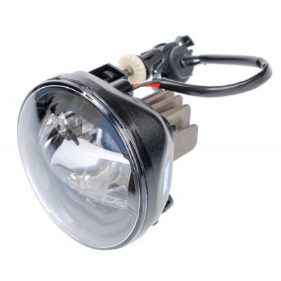 Светодиодная противотуманная фара OPTIMA LED FOG LIGHT 966 Chevrolet 90мм, 7W, 5500K, 9-18V, комплект 2шт арт: LFL-966