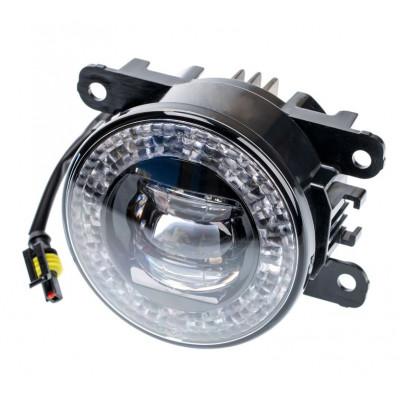 Светодиодная противотуманная фара OPTIMA LED FOG LIGHT 998 Nissan/Honda 90мм, 9W/2W, 5500K, 9-18V, комплект 2шт