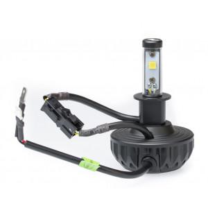 Светодиодная лампа H3 Optima MultiColor LED 3000Lm 12-24V комплект 2 лампы арт: MC-H3