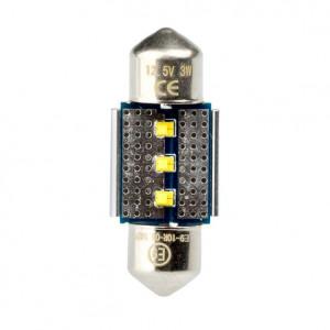 Светодиодная лампа Festoon 31mm Optima Premium, чип Philips, Canbus, white, (SV 7-8) с обманкой арт: OP-F-PH-CAN-31