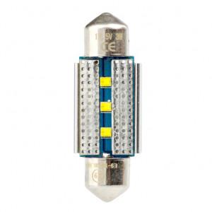 Светодиодная лампа Festoon 36mm Optima Premium, чип Philips, Canbus, white, (SV 8,5) с обманкой арт: OP-F-PH-CAN-36
