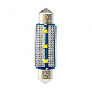Светодиодная лампа Festoon 42mm Optima Premium, чип Philips, Canbus, white, (SV 8,5) с обманкой арт: OP-F-PH-CAN-42