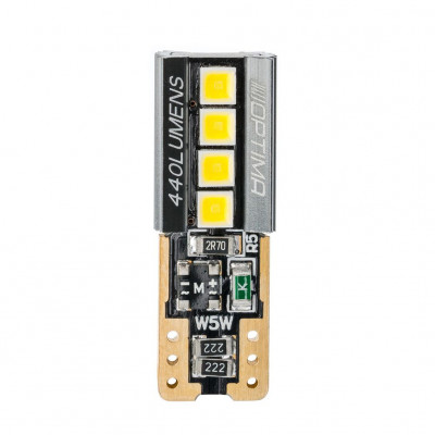 Светодиодная лампа OPTIMA PREMIUM W5W 440Lm SPECIAL CAN, LG chip арт: OP-W5W-440LG-S