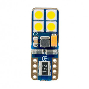 Светодиодная лампа W5W (T10) Optima Premium SAMSUNG Chip 8, CAN, 12V арт: OP-W5W-SM8