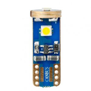 Светодиодная лампа W5W (T10) Optima Premium SAMSUNG Chip 3, CAN, 12V арт: OP-W5W-SM3