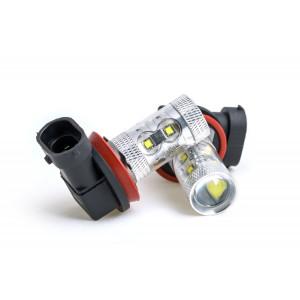 Светодиодная лампа H11/H9/H8 Optima DRL, CREE 50W 1600 люмен 1 шт. арт: OP-H11-50W